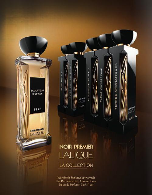 Lalique Noir Premier - Nova Coleção Liga o Passado e o Presente