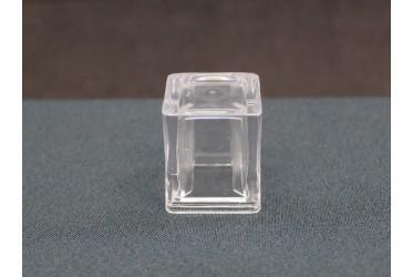SOBRETAMPA CUBO B.15 GLASS TRANSP