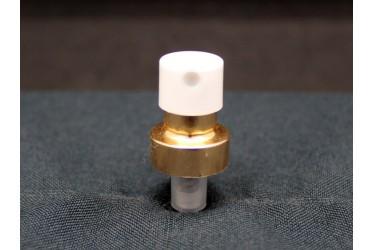 VALV.REC.15 PL-133-CP DOURADA COM BRANCO