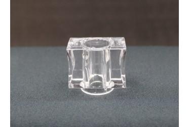 SOBRETAMPA VETRO B.15 GLASS TRANSP