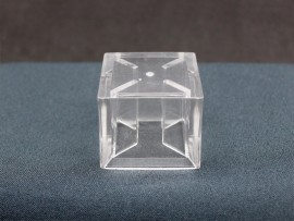 SOBRETAMPA CUBE 50 B.15 GLASS TRANSP MO