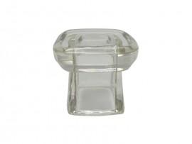 SOBRETAMPA MOON B.15 GLASS TRANSP - LINHA UNIVERSE