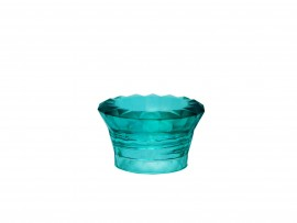 TAMPA DIFUSORA MAJESTICK R.28 410 GLASS VERDE TIFFANY (SOB ENCOMENDA)