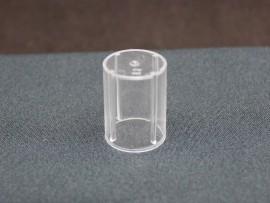 SOBRETAMPA CILINDRICA EASY B.15 GLASS NATURAL