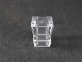 SOBRETAMPA CROWN QUADRADA B.15 GLASS TRANSP